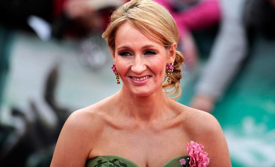 Author J.K. Rowling attends the world premiere of Harry Potter and the Deathly Hallows - Part 2 in London in 2011.