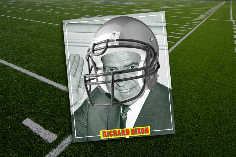 What If Richard Nixon Had Been Good at Football?