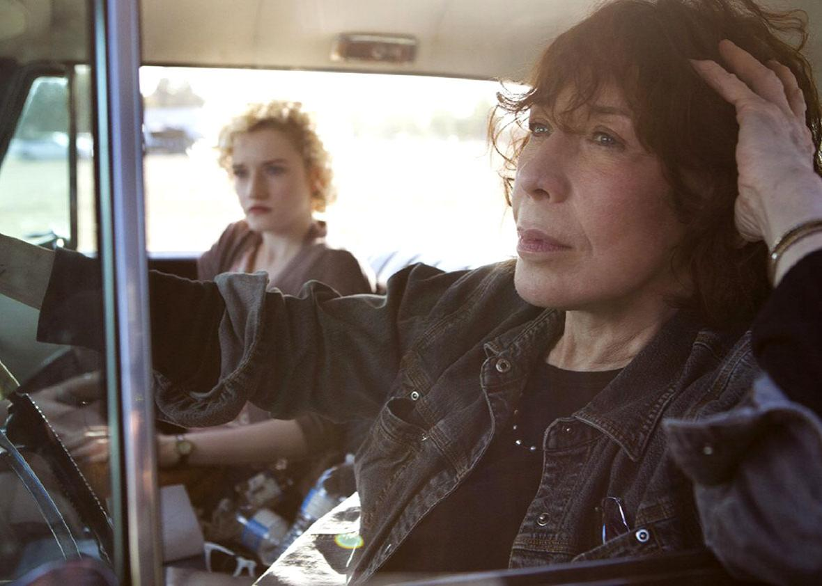 Grandma Lily Tomlin Stars As A Septuagenarian Lesbian Widow In This Deft Touching Story About Grief And Moving On