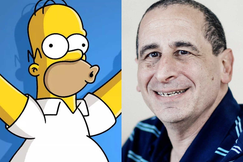 Homer Simpson, Mike Reiss.