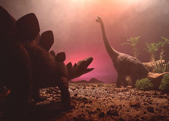 doomed dinosaurs.
