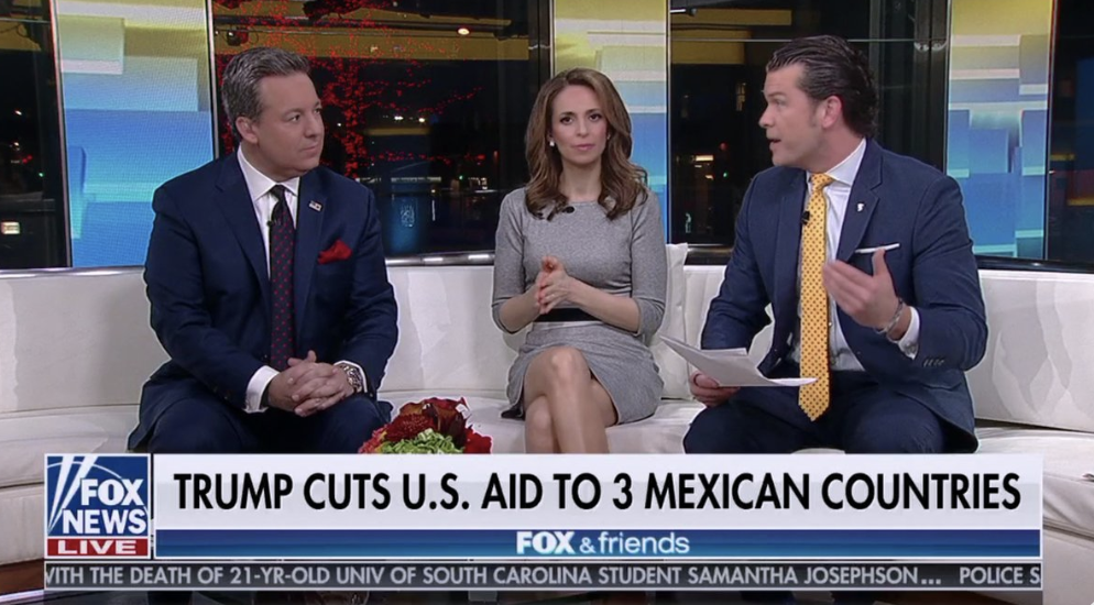 The image that was on the screen during Fox & Friends for around 30 seconds on March 31, 2019.