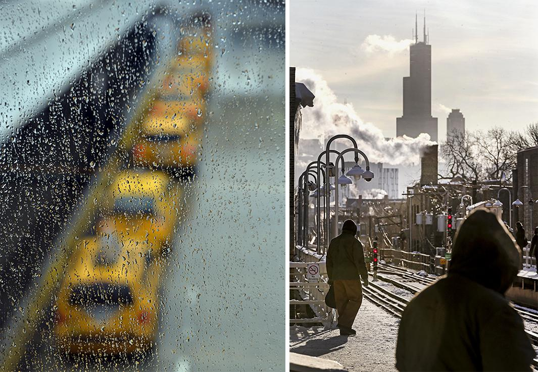 January 6, 2014: JFK Airport, New York; January 7, 2014 Chicago, IL