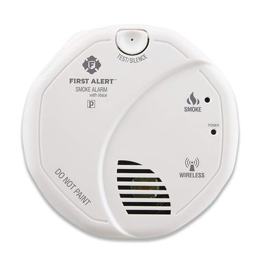 First Alert SA511CN2-3ST Smoke Alarm with Voice Location