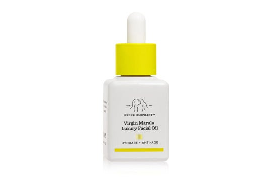 Drunk Elephant facial oil.