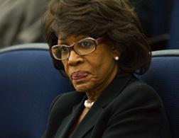 Maxine Waters. Cllick image to expand.