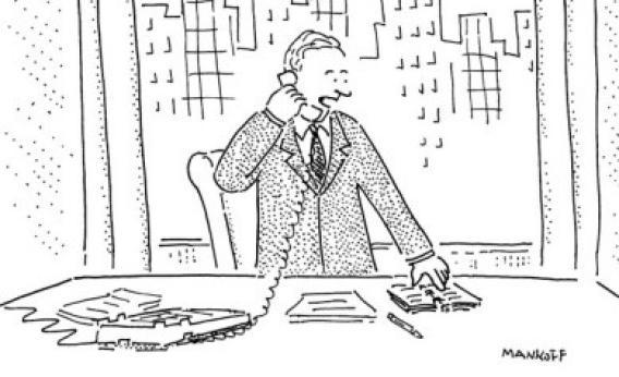 new yorker cartoons explained by editor bob mankoff  watch