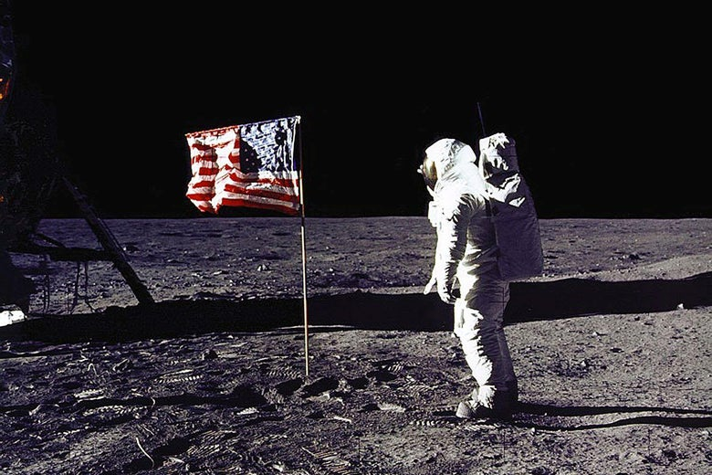 Why the Moon Landing's Anniversary Is Getting Less Attention Than D-Day's.