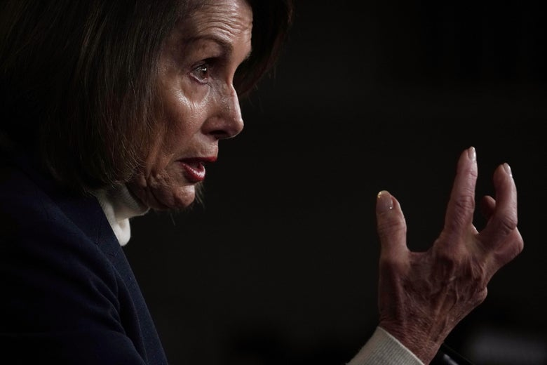 House Speaker Nancy Pelosi.