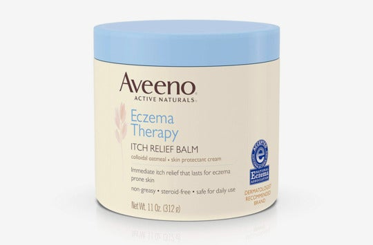 Aveeno Active Naturals Eczema Therapy Itch Relief Balm.