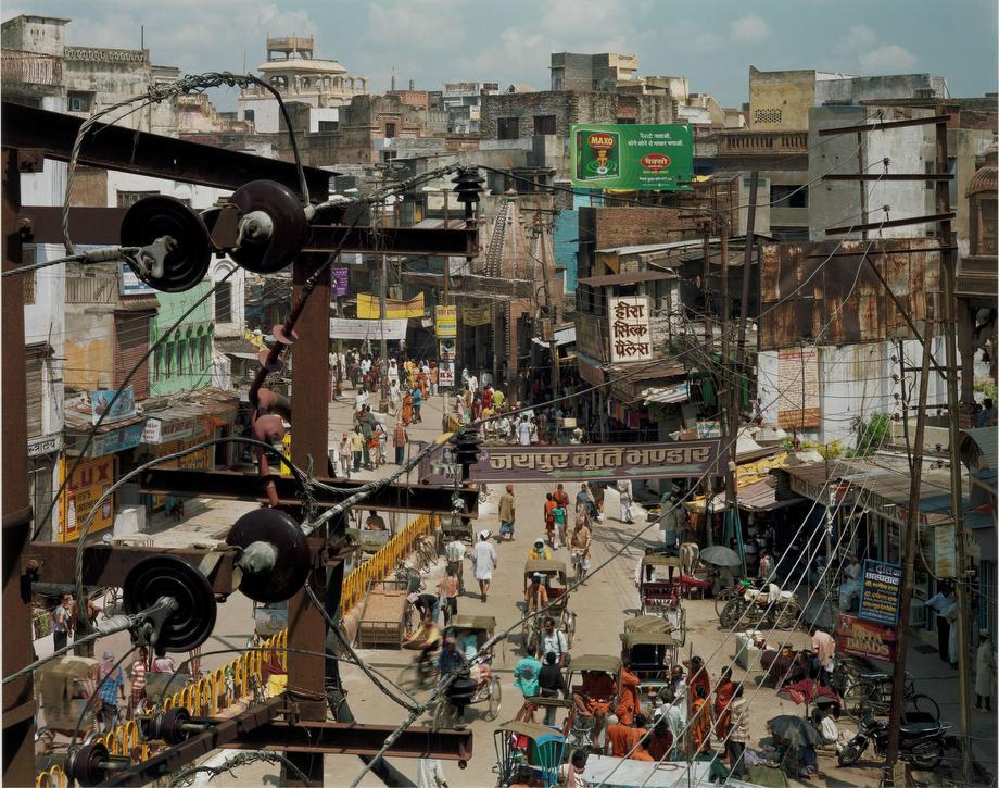 Robert Polidori Dashashwemedh Road, Varanasi, India