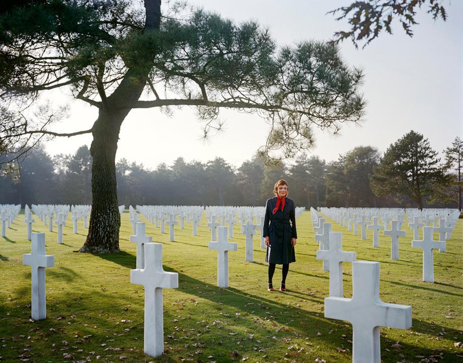 American Cemetery, Colleville-sur-Mer, Normandie, France