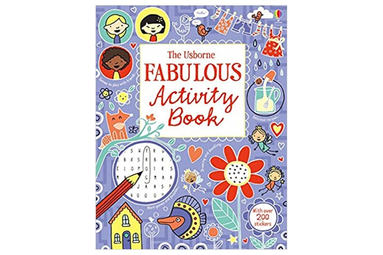 Cover of an activity book.