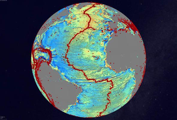 sefloor map