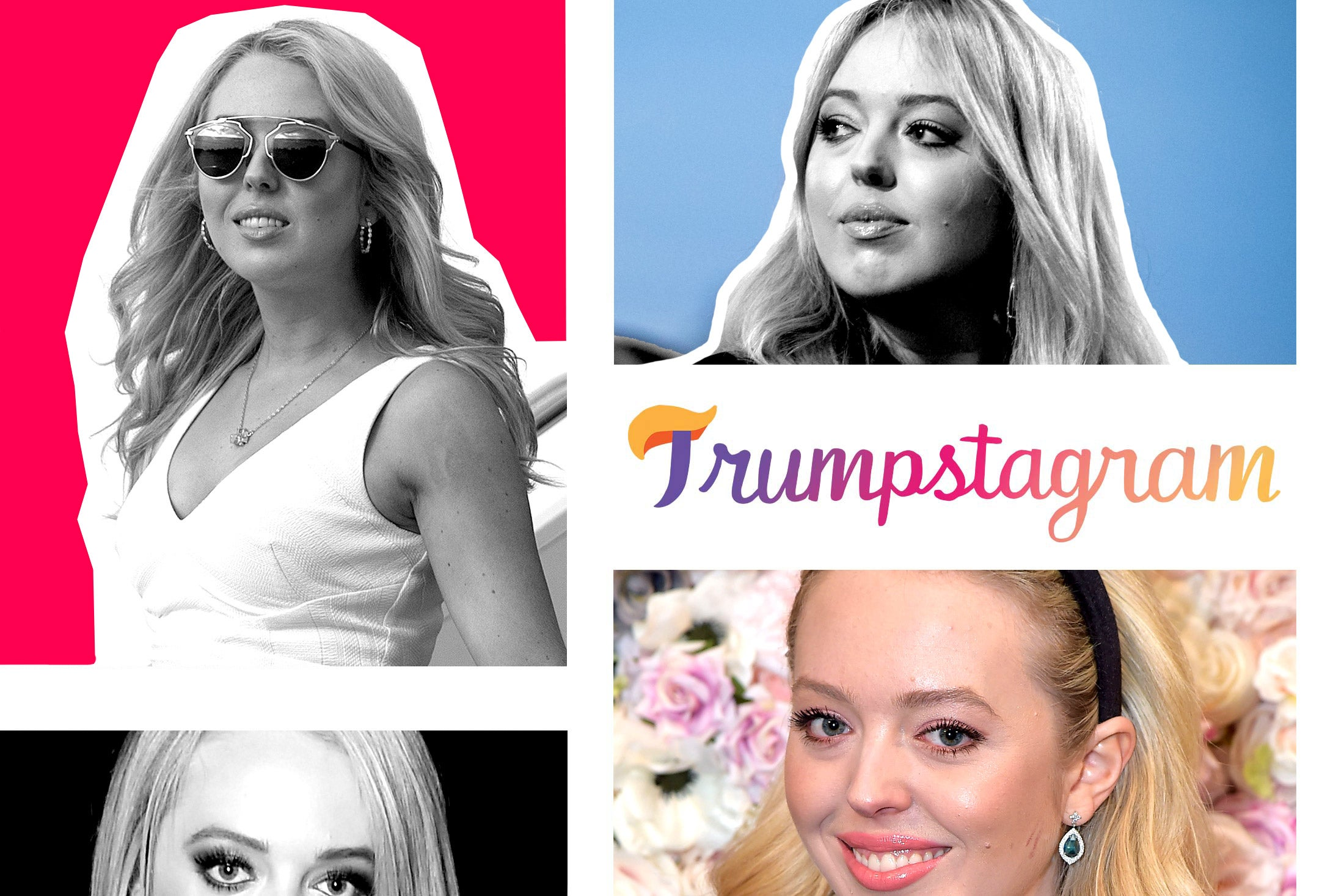 Assorted photos of Tiffany Trump.