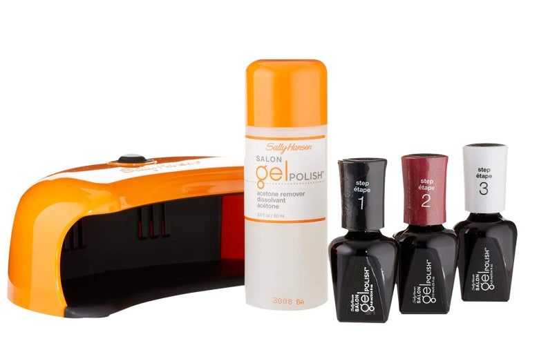 The gel manicure set.