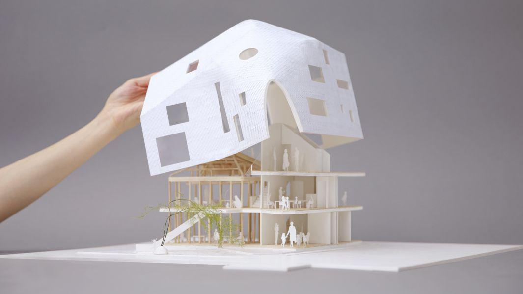 17_MAD_Clover House_Physical Model