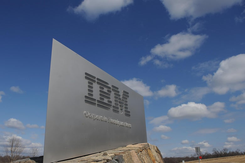 IBM corporate headquarters in Armonk, New York.