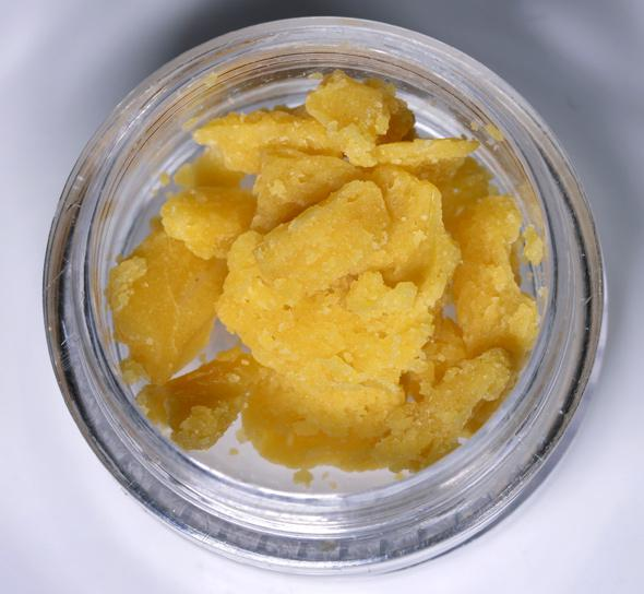 Gucci Earwax, a butane extraction, made by Mahatma Extreme Concentrates for Karmaceuticals in Denver. Won the 1st Place Medical Concentrate trophy at the High Times 2013 Denver US Cannabis Cup.