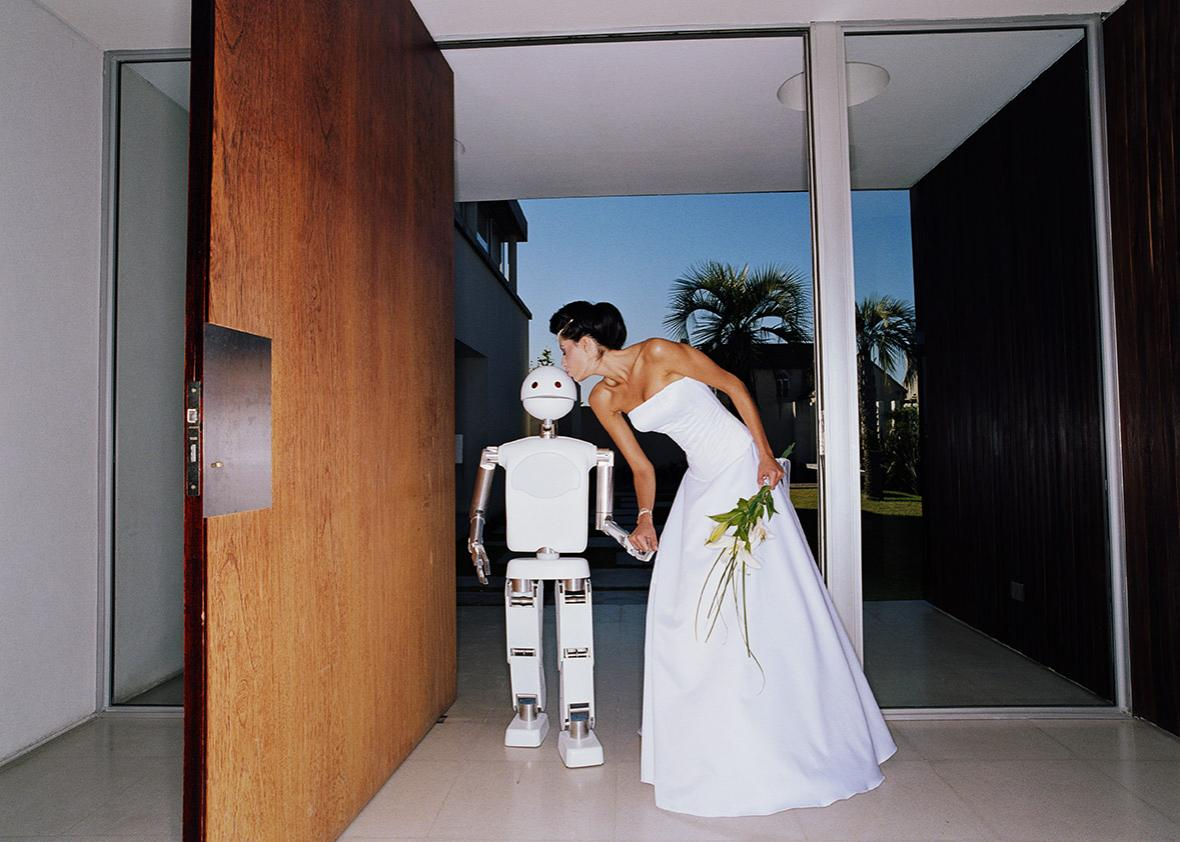 Robot and wife