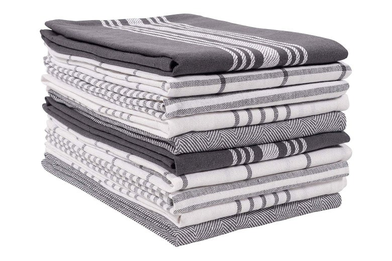 KAH Home dish towels.