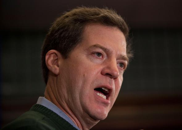 Kansas Gov. Sam Brownback in 2012.