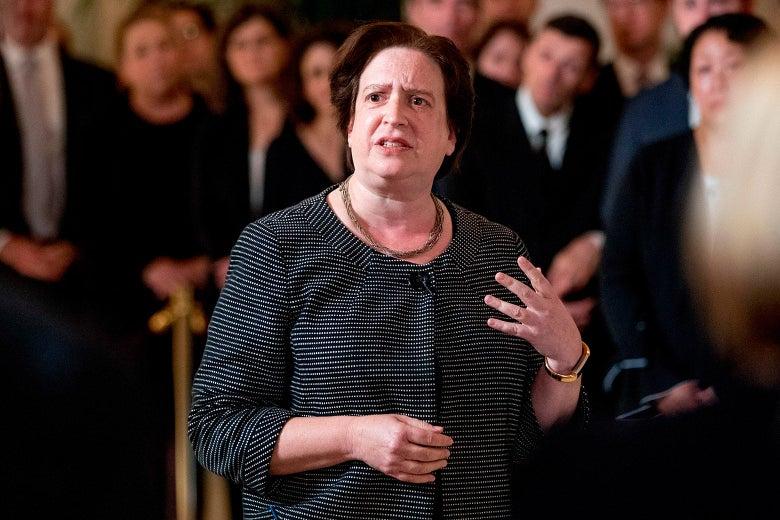 Elena Kagan Showed the Way to Kill Partisan Gerrymandering
