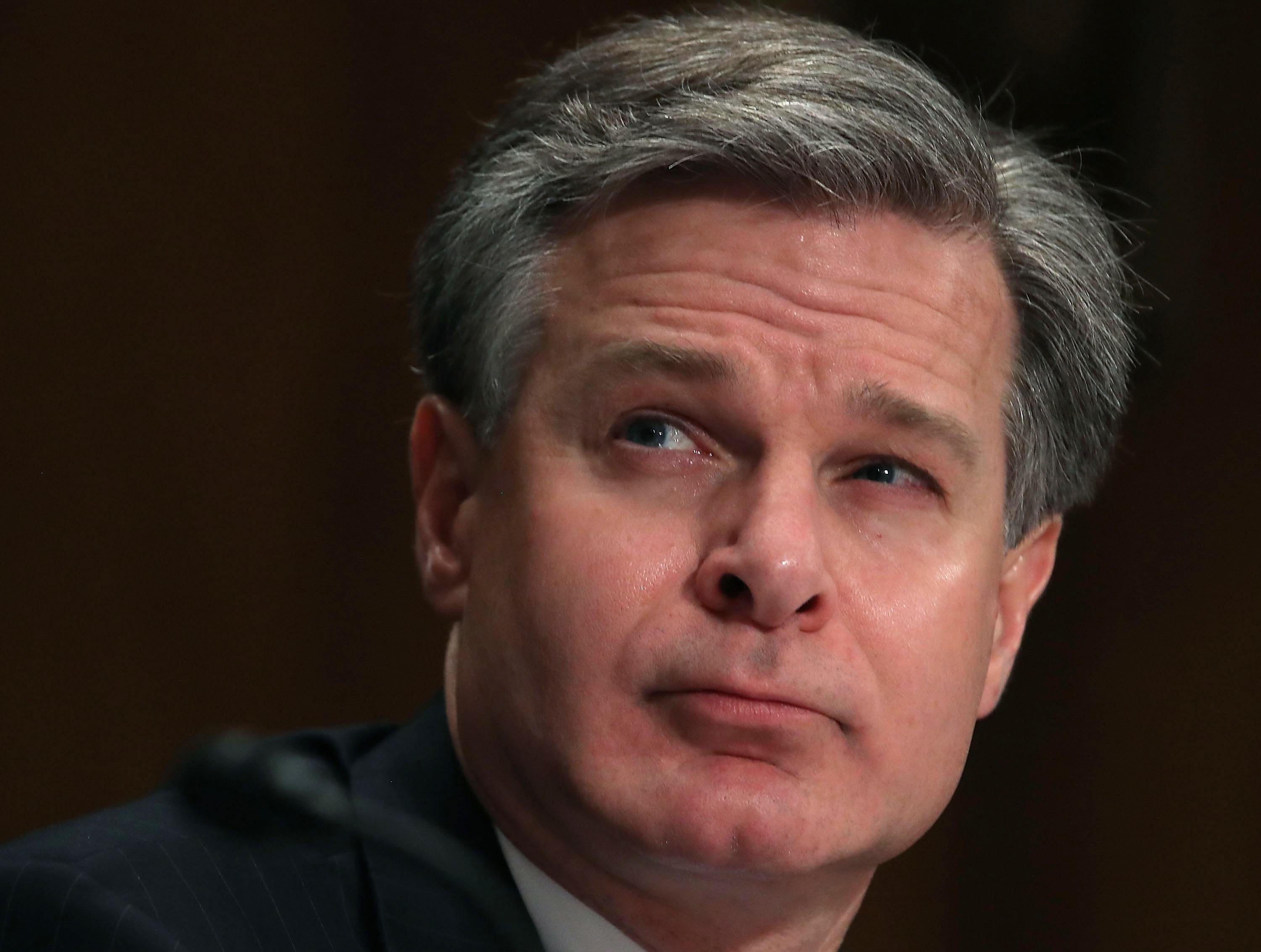 FBI Director Christopher Wray.