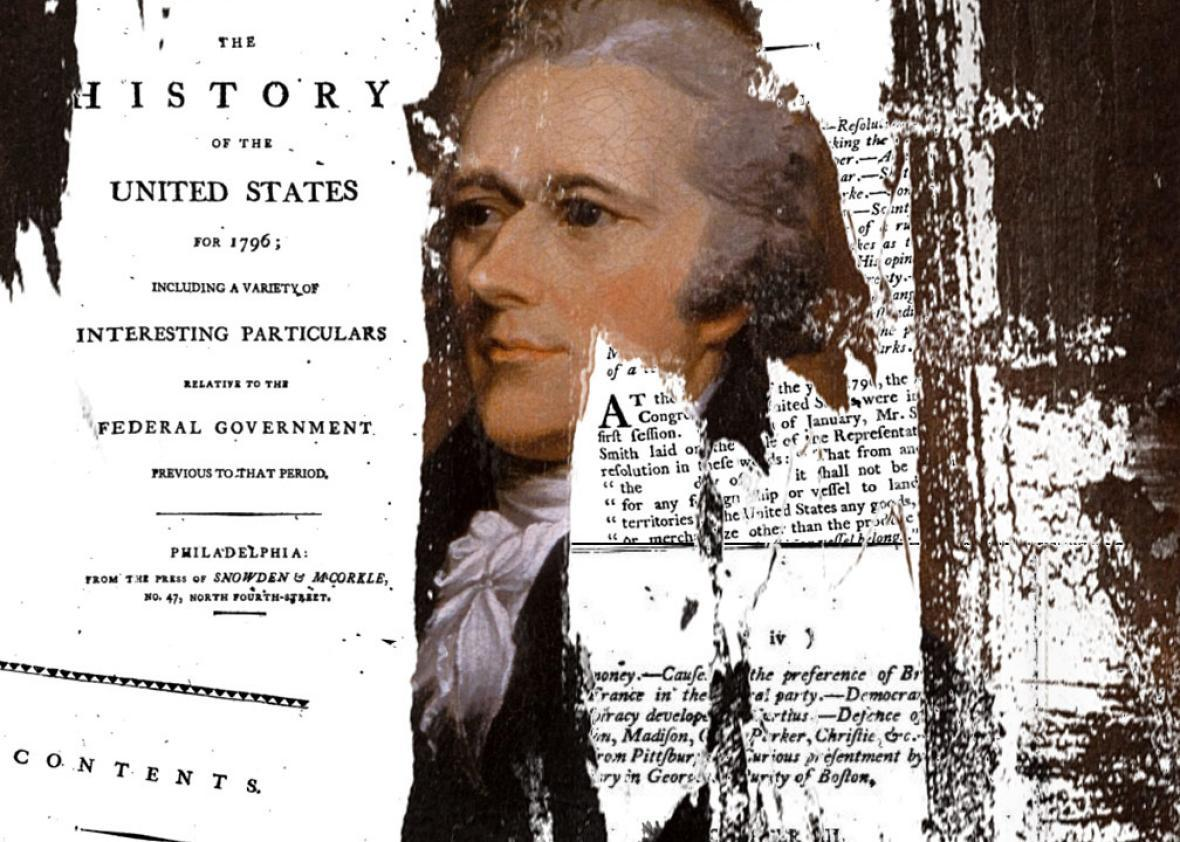 Smear campain of Alexander Hamilton ripped from the headlines.