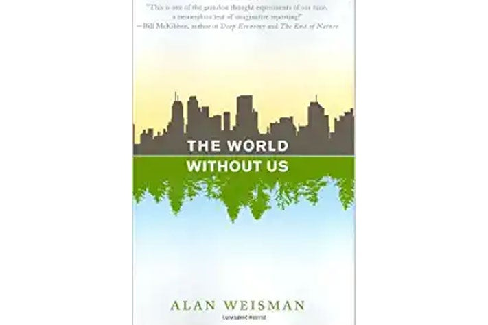 The World Without Us book cover.