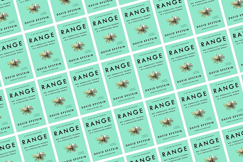 Book jacket of Range by David Epstein