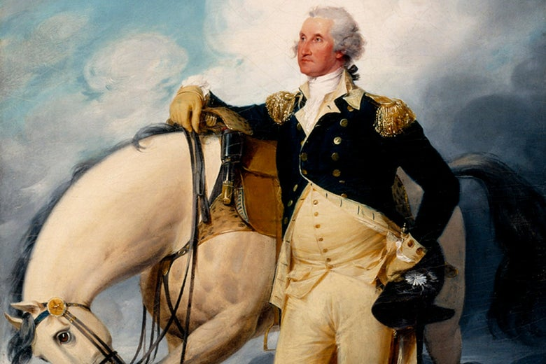 Why Are Male Historians So Obsessed With George Washington's Thighs?