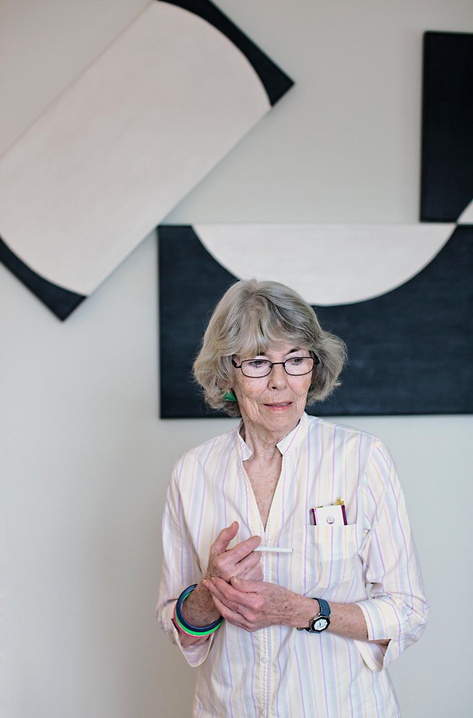 Patti In Her Livingroom, 2012