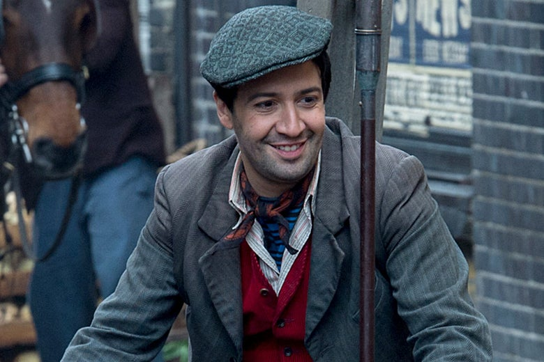 Lin-Manuel Miranda in Mary Poppins Returns.