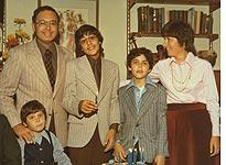 The Friedmans, in happier times