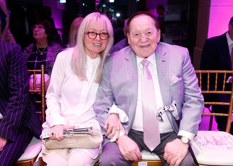 Miriam and Sheldon Adelson.