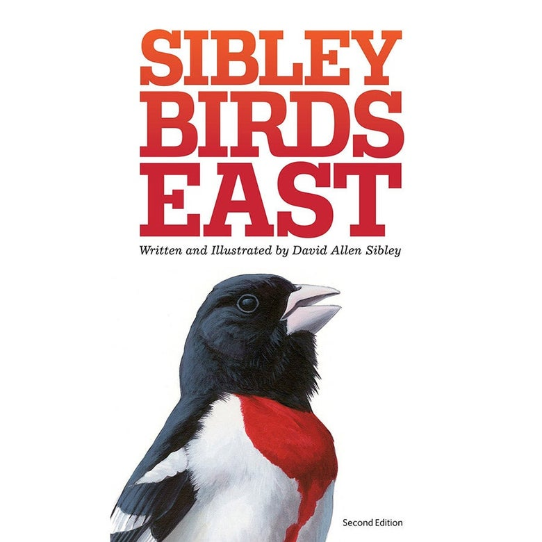 The cover of Sibley Birds East.