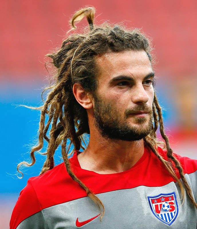 Kyle Beckerman of the United States during training on June 21, 2014 in Manaus, Brazil.