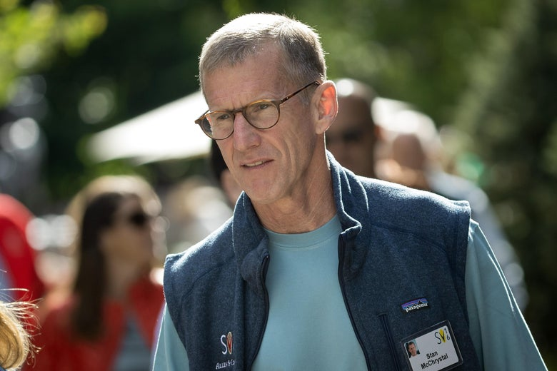 Stanley A. McChrystal, retired U.S. Army general and former commander of Joint Special Operations Command, attends the annual Allen & Company Sun Valley Conference, July 6, 2016 in Sun Valley, Idaho.