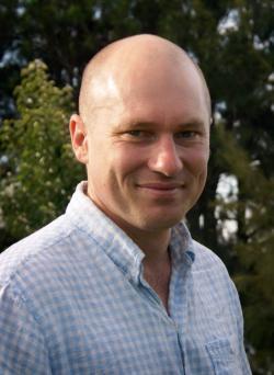 Author David Dufty.
