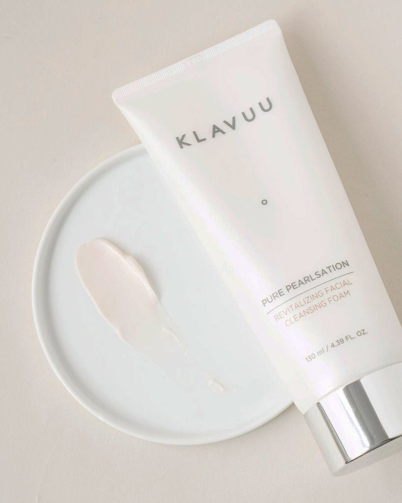 Klavuu Pure Pearlsation Revitalizing Facial Cleansing Foam.