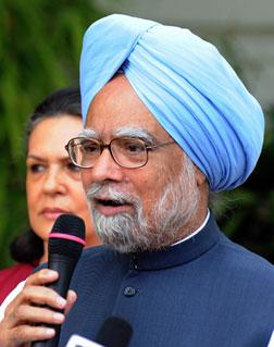 Indian Prime Minister Manmohan Singh. Click image to expand.