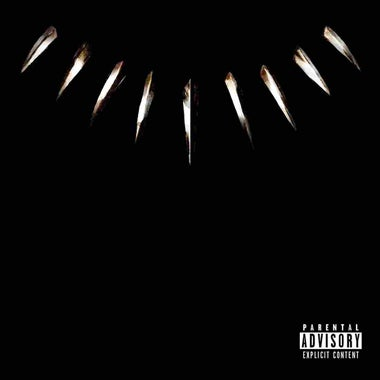 The cover for the Black Panther: The Album.