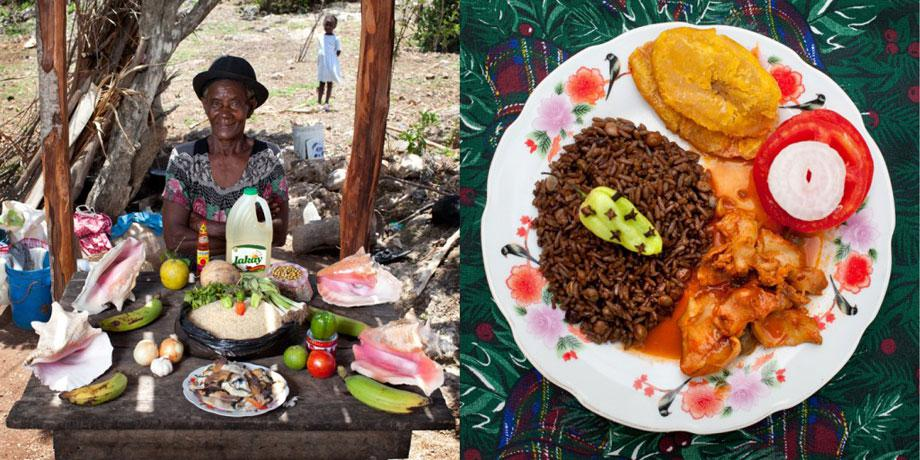 Delicatessen with love Serette Charles, 63 years old – Saint-Jean du Sud, Haiti– Lambi in creole sauce –