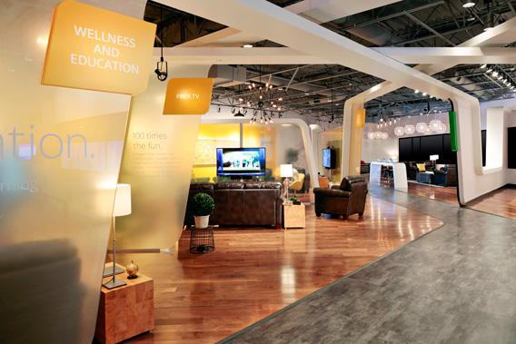 The Google Fiber Space showroom in Kansas City, Mo.
