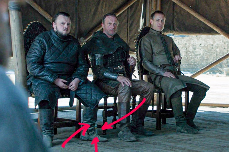Game of Thrones Finale Caps Off Series Gaffes With Two (!) Plastic Water Bottles