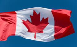 Canadian flag. Click image to expand.