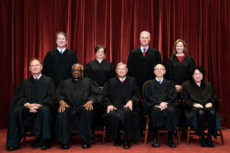 The Supreme Court's latest group photo.