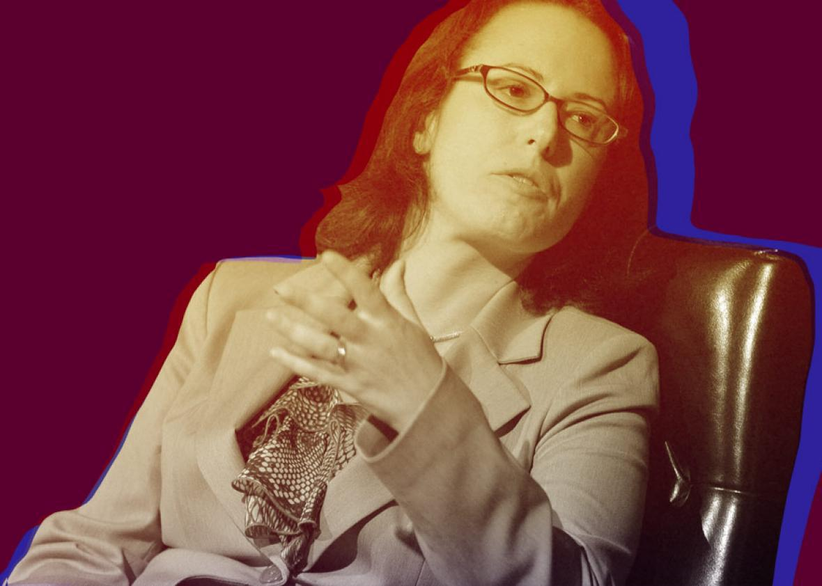 Maggie Haberman on October 18, 2012 in New York City.