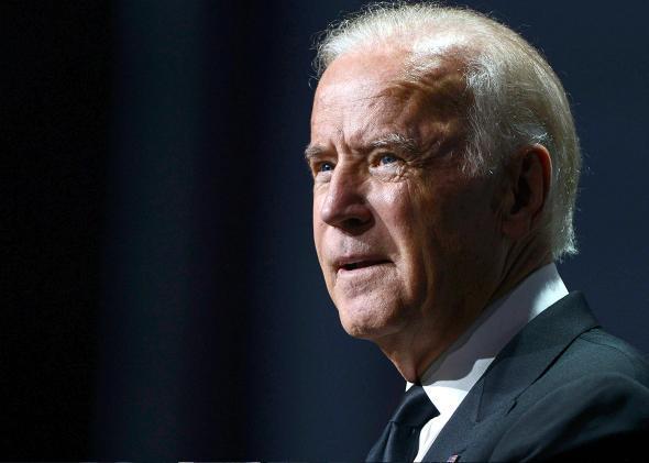 Joe Biden running for president.
